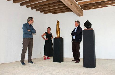 Expo / concerts du vendredi 26 septembre au dimanche 12 octobre 2014, à la rencontre de trois univers: sculpture, photographie et jazz