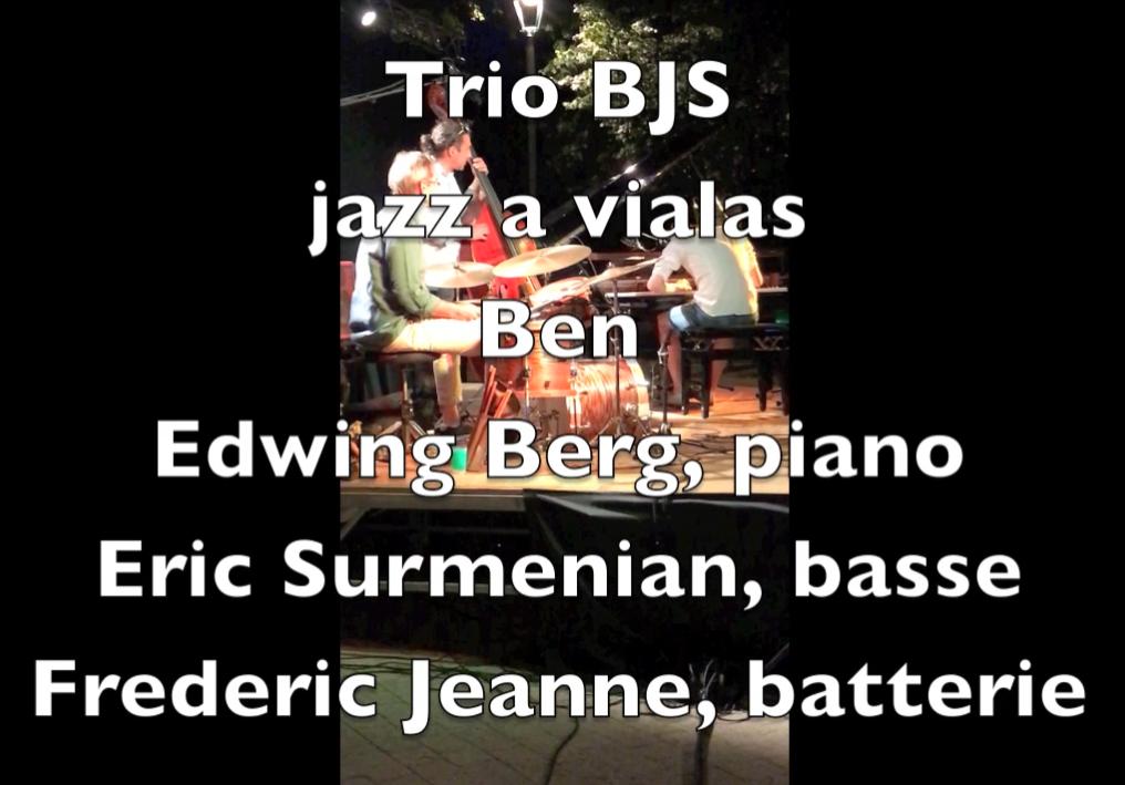 « Ben », par le Trio Berg Jeanne Surmenian au Festival « Jazz à Vialas » 2018...