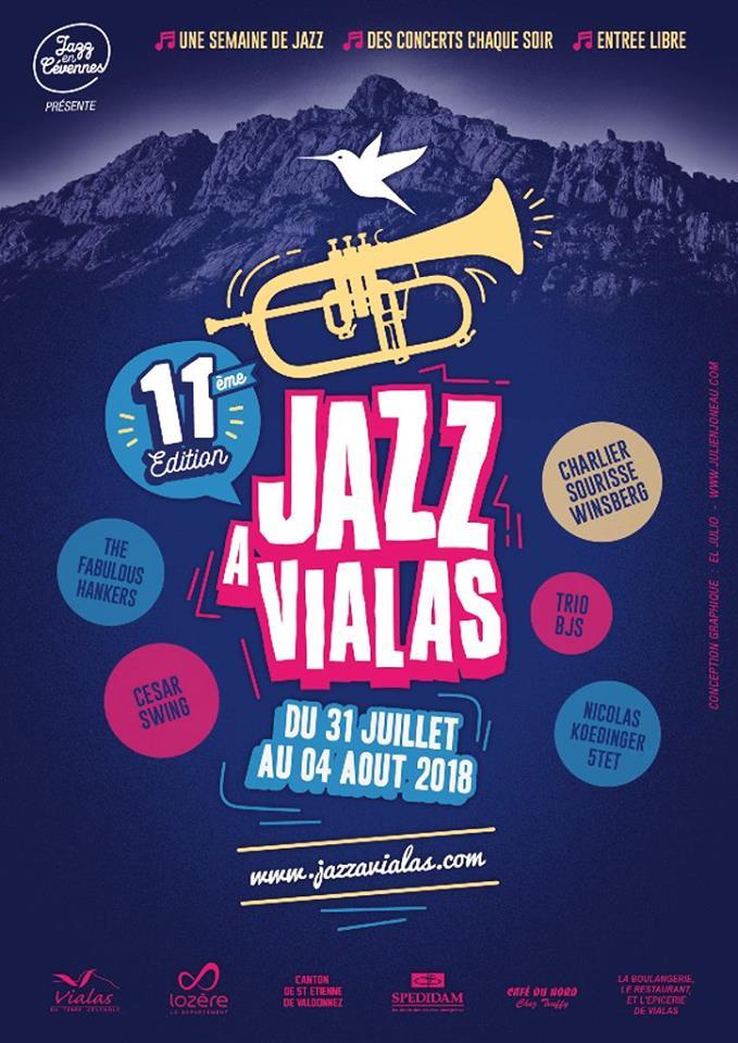 Le Trio BJS au Festival « Jazz à Vialas 2018 »...